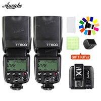 Godox TT600 HSS Wireless Flash Speedlite 2.4G GN60 Master/Slave for Canon SLR camera godox Flash Speedlite
