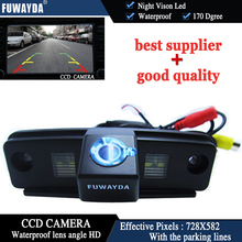 FUWAYDA CAR REAR VIEW REVERSE CCD/170 DEGREE/WATERPROOF/WITH REFERENCE LINE/NIGHT VISION CAMERA FOR SUBARU FORESTER/IMPREZA(3C)