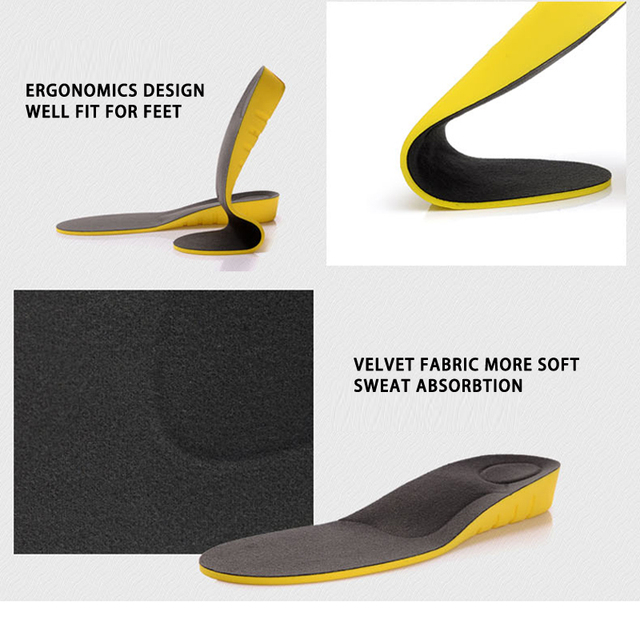 Height increase insoles for men/wo
