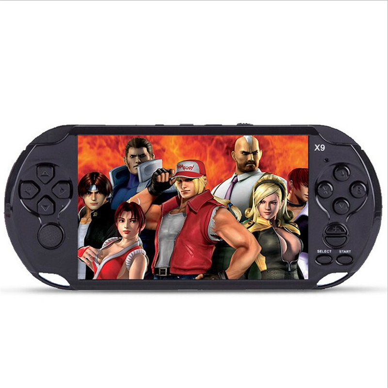 1000 games 5 0 Large Screen Handheld Game console Player Support TV Output With MP3 Movie
