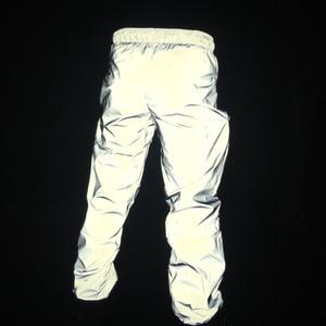Image 3 - Newest men hip hop pants night jogger reflective streetwear trousers mens casual sweatpants pantalones hombre plus size 3XL