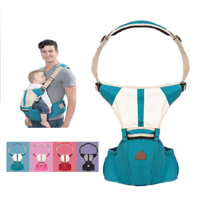 Christmas gift0-30 Months Breathable Front Facing Baby Carrier 4 in 1 Infant Comfortable Sling Backpack Pouch Wrap Baby Kangaroo brand ergonomic baby carrier breathable front facing infant baby sling backpack pouch wrap baby kangaroo for baby newborn sling