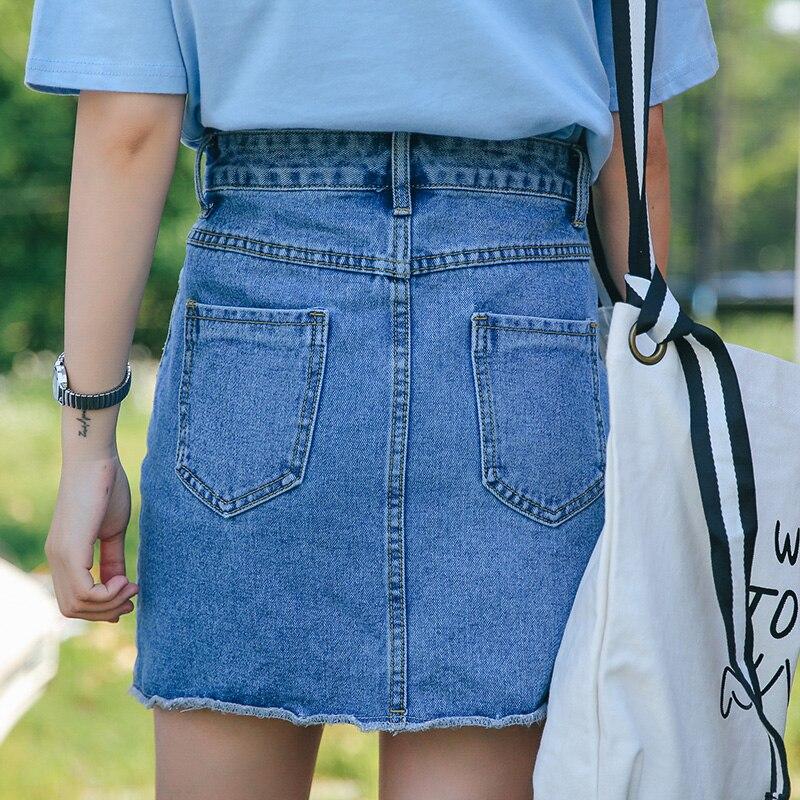 Aliexpress.com : Buy Summer 2017 New Fashion High Waist Denim ...