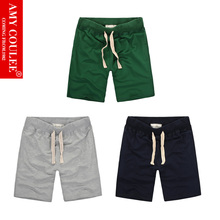 DarkGreen Gray Navy 3 in 1 Set Shorts Casual Pure Men Women Style Solid Color Classic 100%Cotton Stylish High Quality Comfotable