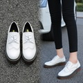 Autumn new brock shoes British style women flat causal shoes size 5-10.5