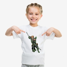 Printing DC Comics Green Lantern Cool patterns Modal Summer Kidswear, Boy/girl T-shirt Short Sleeve White Kid Clothes