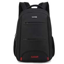 Купить с кэшбэком AUGUR Brand Laptop Backpack Men's Travel Bags 2017 Multifunction Rucksack Waterproof Oxford Black School Backpacks Teenagers