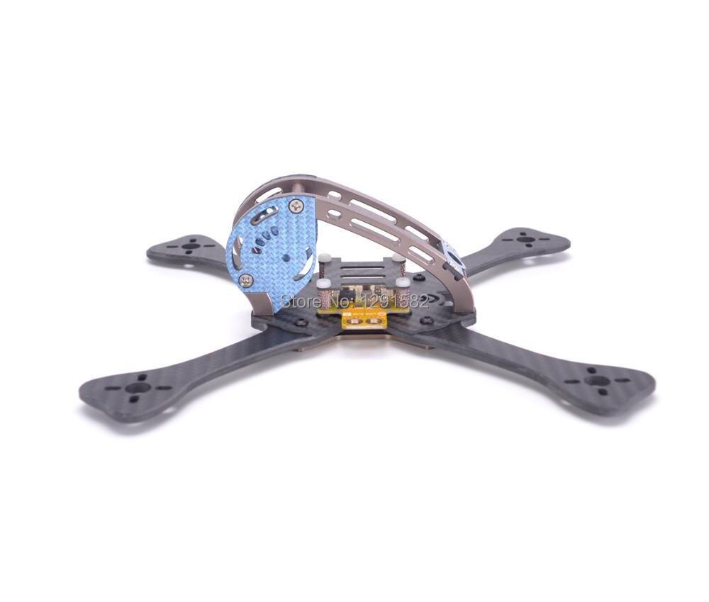FPV DIY 220 220mm 255 255mm carbon fiber quadcopter frame with 4mm ...
