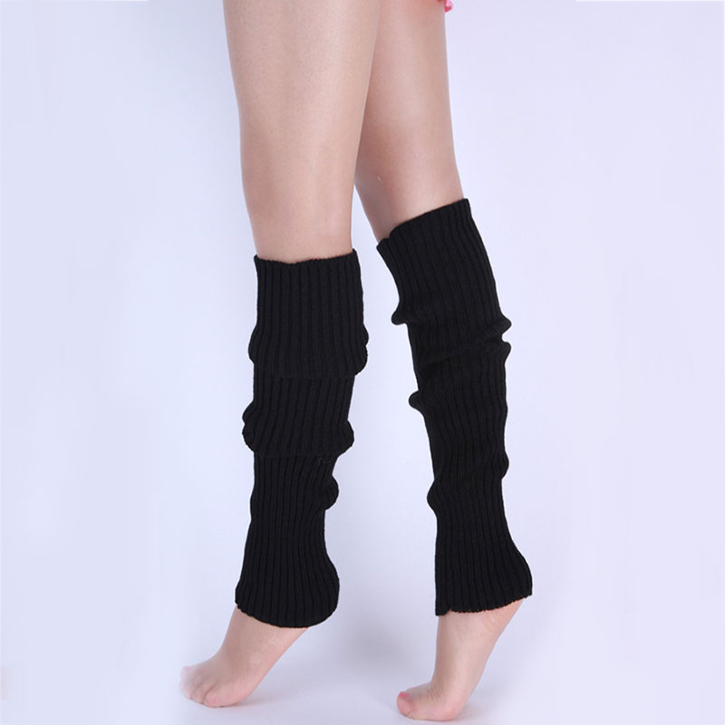 1 пара; Стильные женские вязанные гетры зимние вязаные крючком Модные женские леггинсы Утеплитель для ног син-доставка
