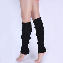 1 par elegante mulher kniting perna mais quente inverno malha crochê moda senhora legging pé mais quente xin-grátis
