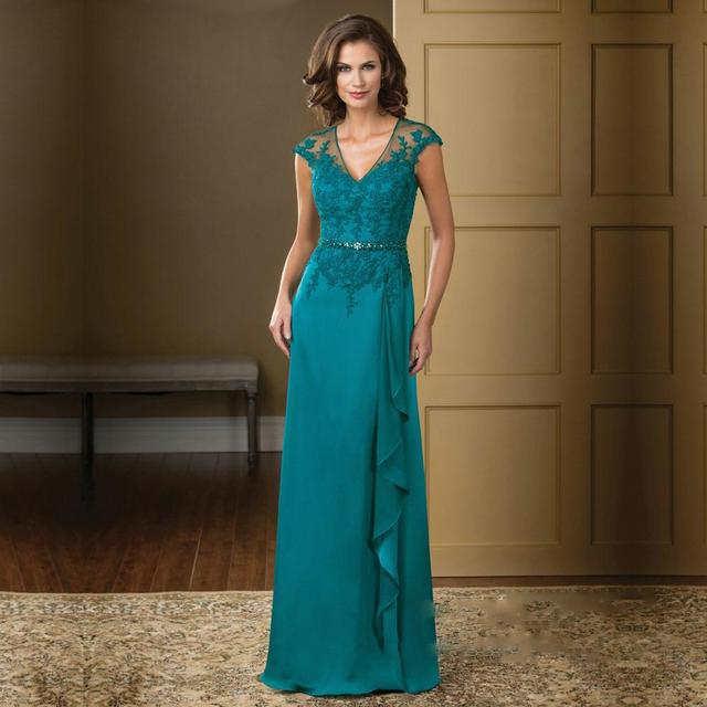 Turquoise Mother of the Bride Dresses