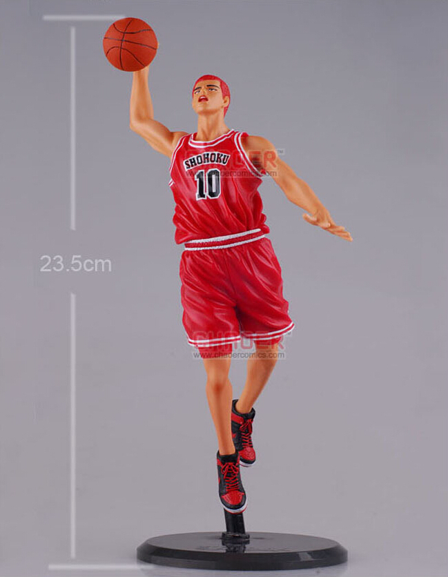 ФОТО 23cm Slam Dunk Sakuragi Hanamichi  Action Figures PVC brinquedos Collection Figures toys for christmas gift