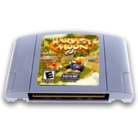 Harvest Moon 64 English Language For 64 Bit USA EU Version Video Game Cartridge Console