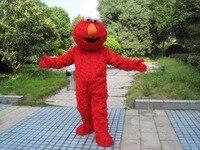 Factory Direct Selling High Quality Long Fur Elmo Mascot Costume Character Costume Cartoon Costume Elmo Cosplay