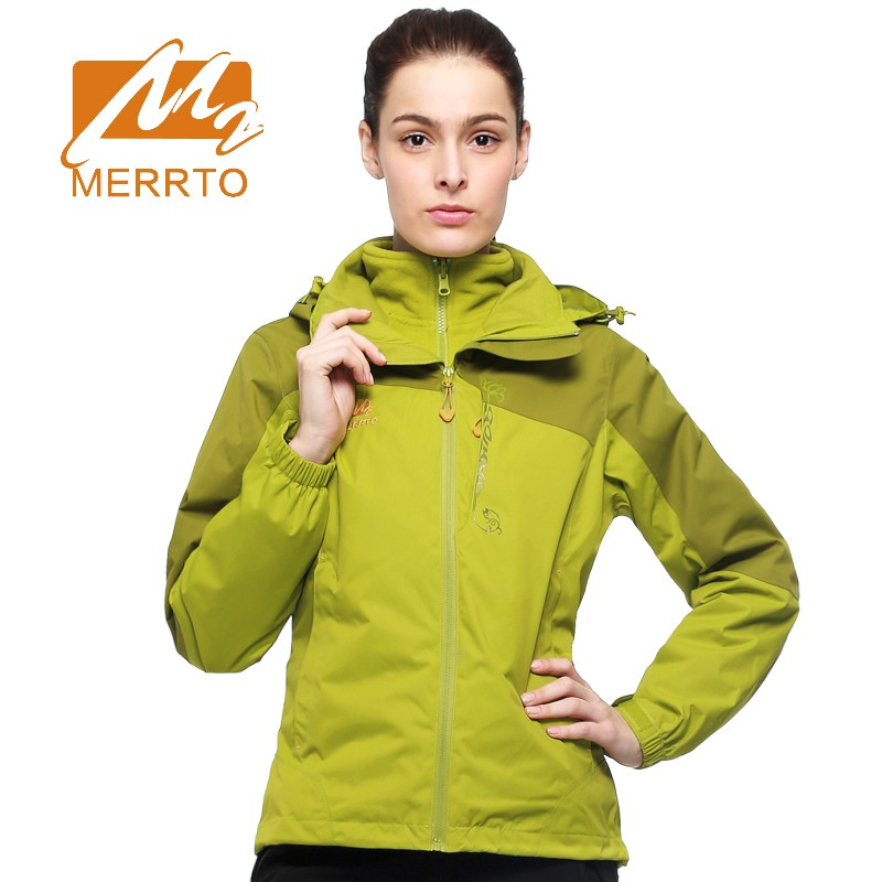 Merrto outdoor Women's Jackets with hood Breathable Windproof Waterproof keep warm Camping hiking coat Snowboarding ski Jackets men skiing jackets warm waterproof windproof cotton snowboarding jacket shooting camping travel climbing skating hiking ski coat