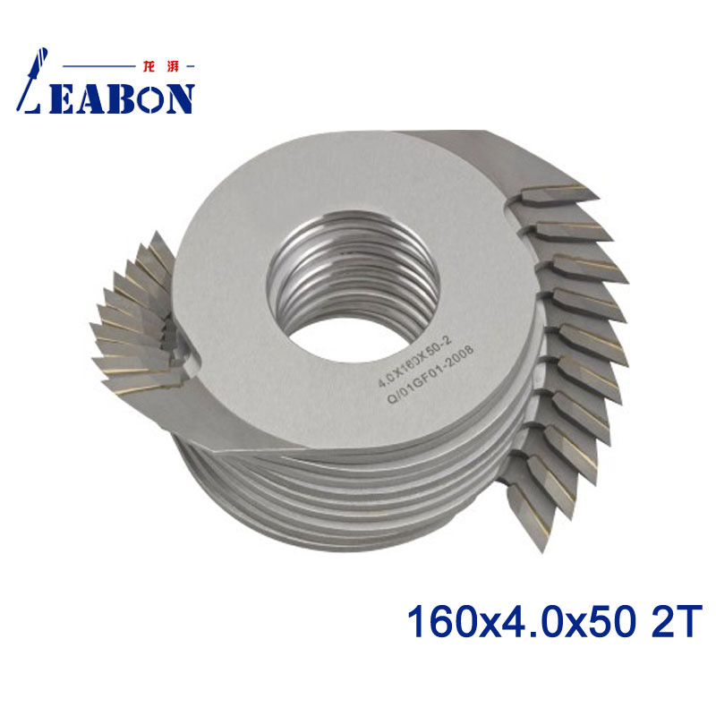 LEABON 160*4.0*50 2T Teeth Carbide Finger Joint Cutter For Woodworking Machine / Woodworking Tool
