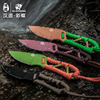 HX OUTDOORS Neck Knife D2 Steel 58Hrc Fixed Blade Knives Hunting Knives Pocket Camping Outdoor Tools