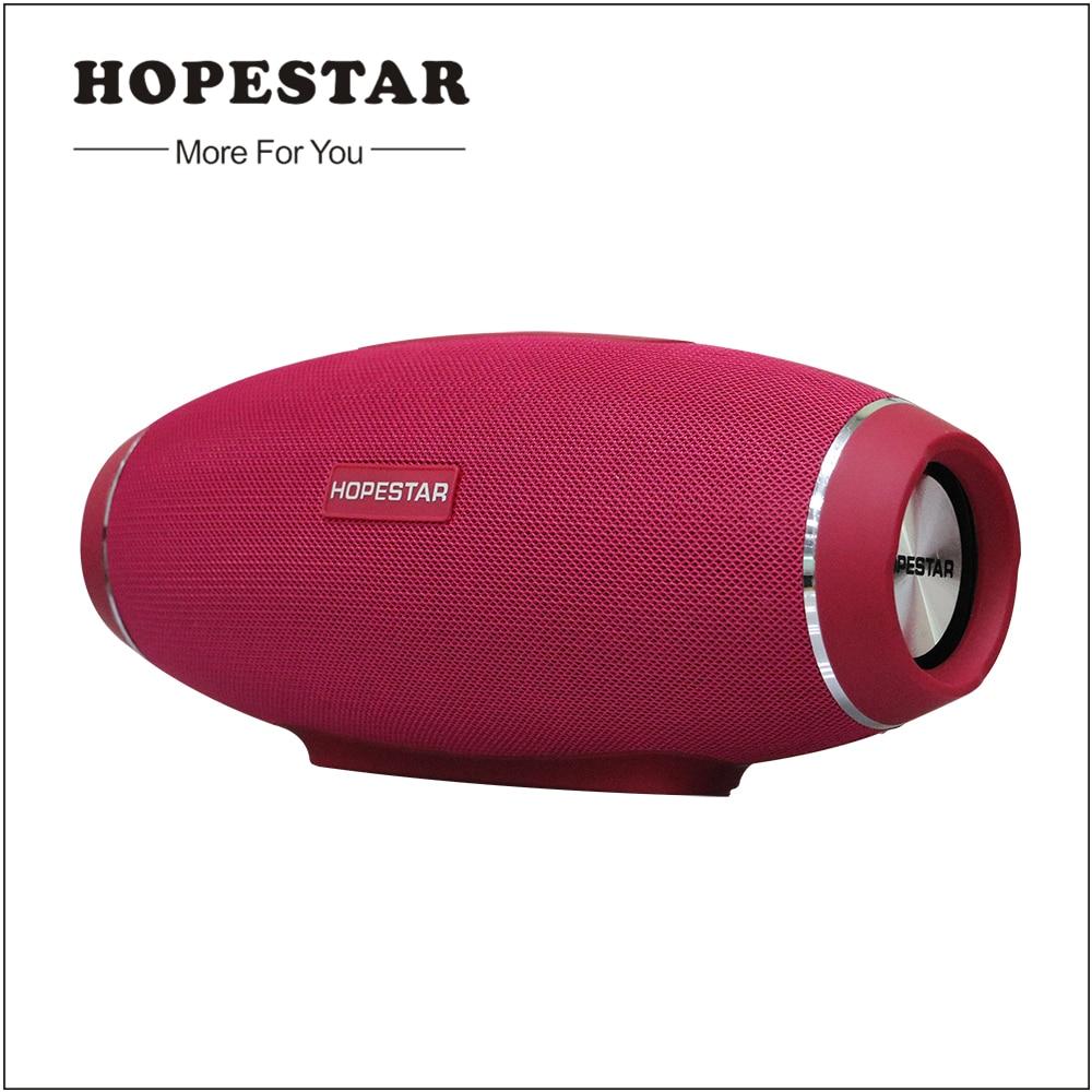 Hopestar H20 Rugby Bluetooth Haut-Parleur Sans Fil Mini Sonore Parfaite Basse Lourde Stéréo Musique Lecteur Football Subwoofer pour Smarthone