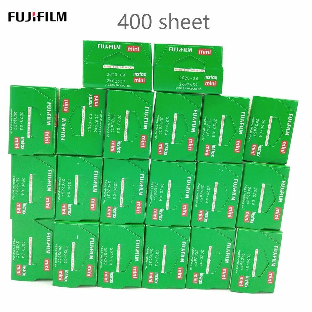 Fujifilm Instax Mini 9 Film blanc bord papiers Photo pour Mini8 7 s 90 25 55 partager SP-1 appareil Photo instantané 400 feuilles