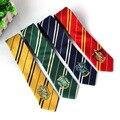Gryffindor Slytherin Hufflepuff Ravenclaw corbata Nueva Moda estilo de la Universidad series tiestyle regalo insignia de la escuela tie