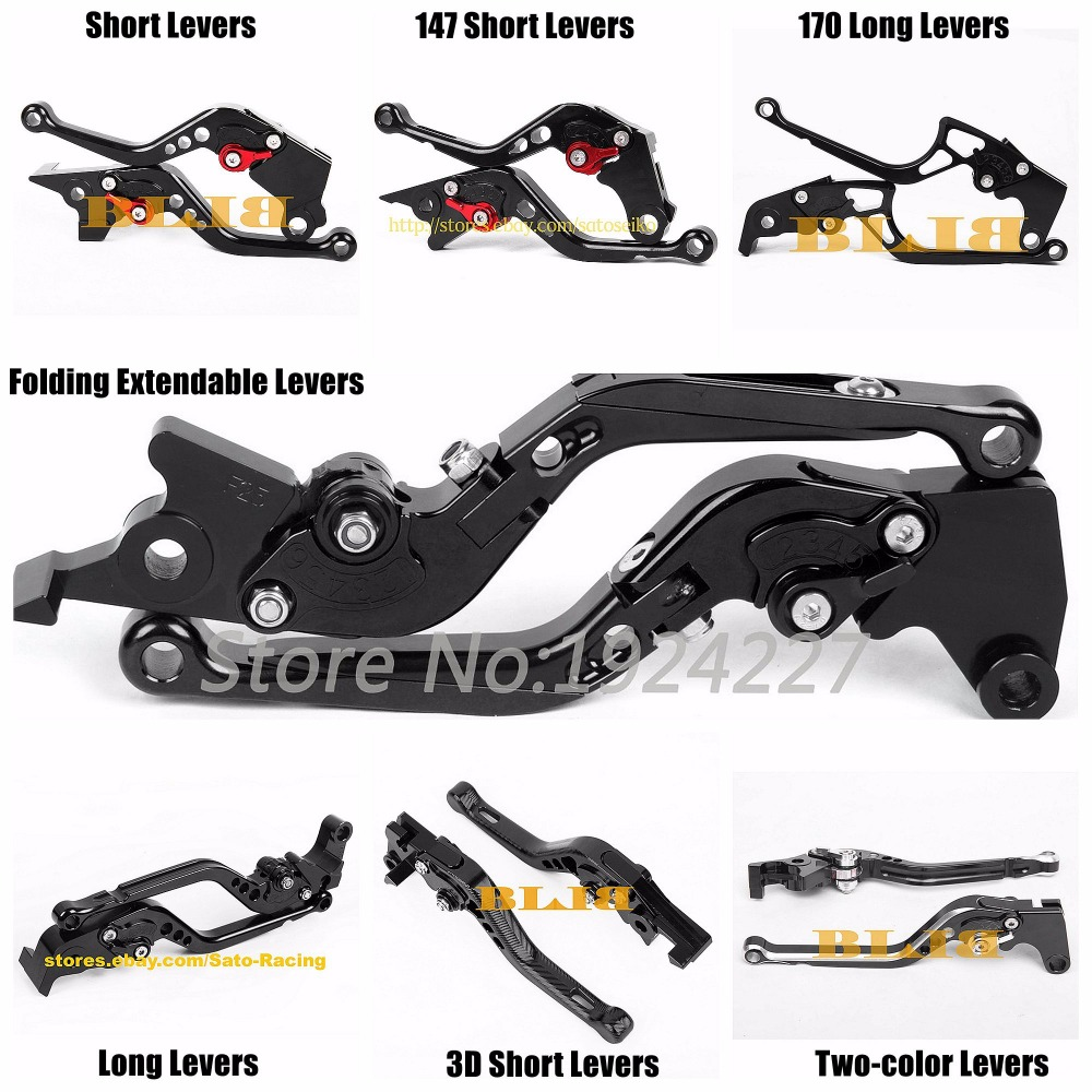 For <font><b>Honda</b></font> VFR800 VFR 800 CBR1100XX CBR1100 CBR <font><b>1100</b></font> XX 1100XX BLACKBIRD CNC <font><b>Motorcycle</b></font> 7 Different Style Clutch Brake Levers image