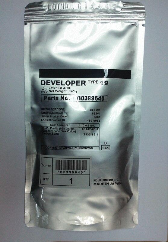 1 Pcs Type 19 Developer Compatible For Ricoh Aficio 1015 1018 220 270 1113 1118 1115P Printer Copier Parts