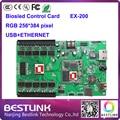 Rgb из светодиодов платы управления ex-200 biosled карты 256 * 384 пикселей с usb порт для p4 p5 p6 p8 p10 из светодиодов коллегия