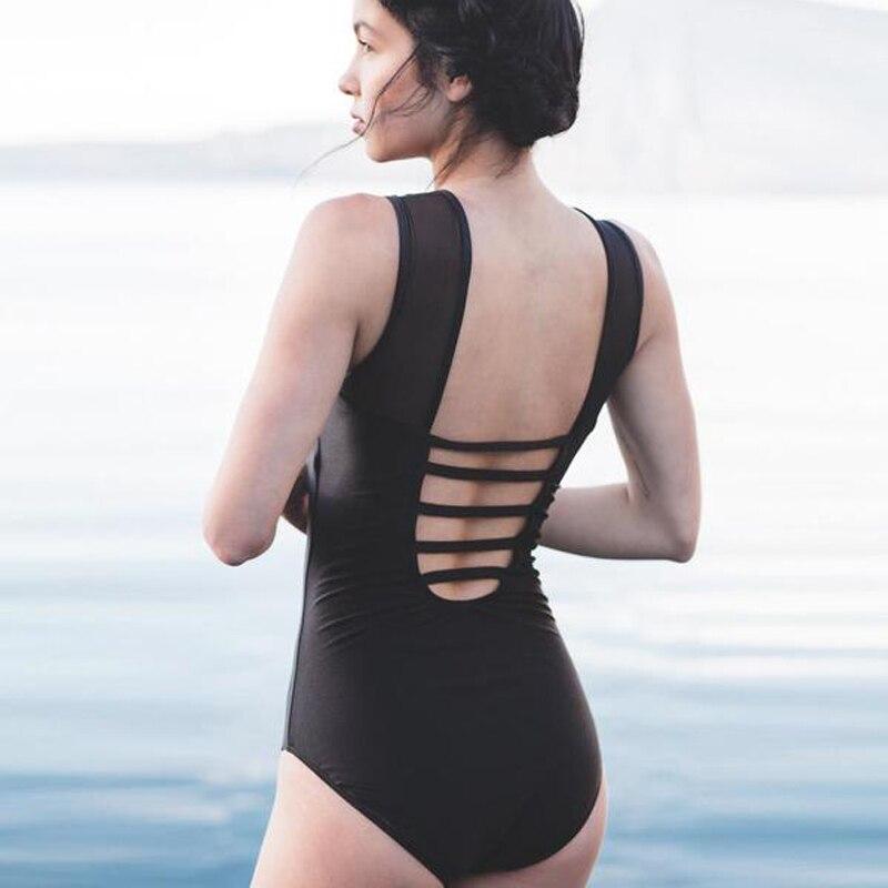 Una Comprar Baño Mujer De Pieza Clásico Traje Transparente Para Sexy 80wvOmNn
