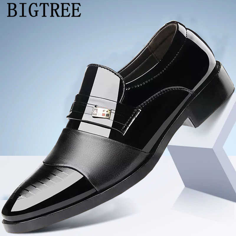 براءات الاختراع والجلود أشار تو الانزلاق على الرجال فستان أحذية حذاء رسمي مان أكسفورد أحذية للرجال sapato الاجتماعية masculino scarpe uomo