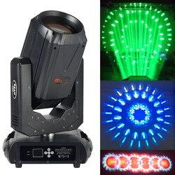 Efekt tęczy 10R Sharpy 260W reflektor z ruchomą głowicą z podwójnym pryzmaty 6 szklane gobo na etapie oświetlenie dj ślubne disco przypadku w Oświetlenie sceniczne od Lampy i oświetlenie na