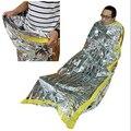 Nueva Prueba de Agua Reutilizable Foil Emergencia Saco de Dormir térmico manta de Supervivencia Al Aire Libre que va de Excursión