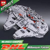LEPIN 722Pcs 05030 Star Wars Vader Tie Advanced VS A Wing Starfighter 75150 Building Blocks