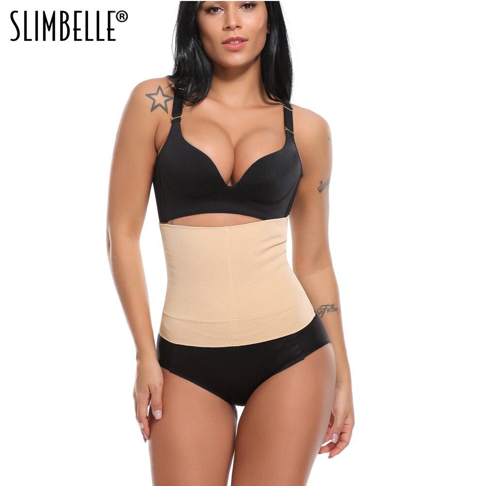 Women Seamless High Waist Trainer Slimming Belt Body Shaper Tummy Control Underwear Waist Cincher