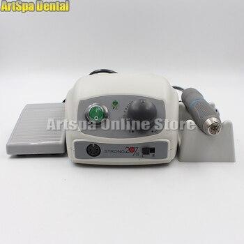Dental Lab Saeshin STRONG 207A+107 40000 RPM Micro Motor Polishing Handpiece Dental Lab Equipment