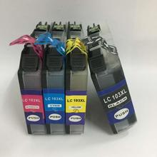 Einkshop 4pcs For Brother Ink cartridge LC103 LC105 LC107  MFC-J4510DW MFC-J4610DW MFC-J4310DW MFC-J4410DW printer ink