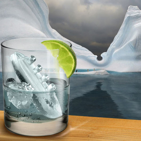 Freeze Titanic Ice Cube cool kitchen stuff