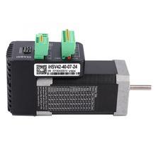 цена на IHSV42-40-07-24 NEMA17 Integrated Servo Motor 24VDC 78W with 1000 Lines Encoder Brushless Driver