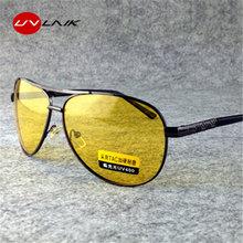 8d06c28d1a3041 UVLAIK TAC HD Gepolariseerde Zonnebril Mannen Vrouwen Nachtzicht Rijden  Goggles Driver Geel Zonnebril UV400