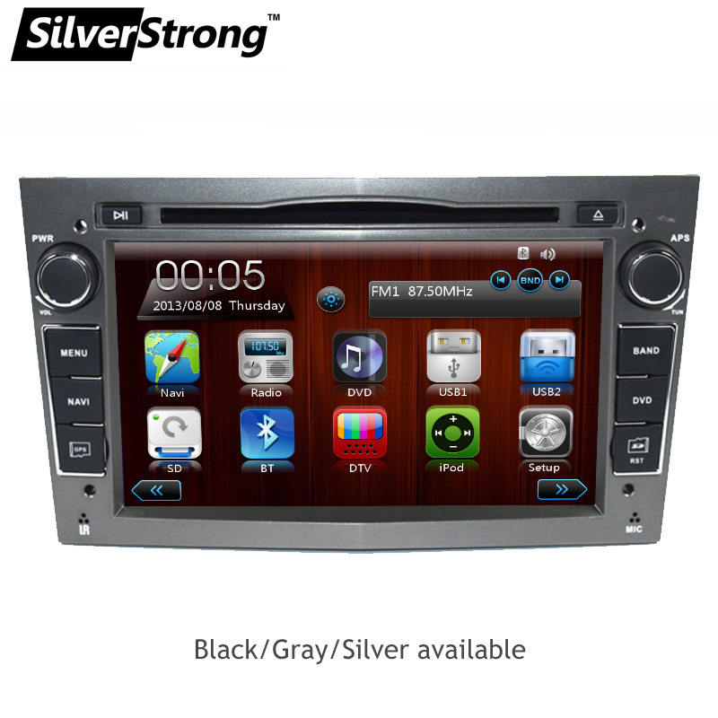 SilverStrong Universal 2din car dvd player for Opel Astra Vectra Antara Zafria Corsa Car Radio GPS