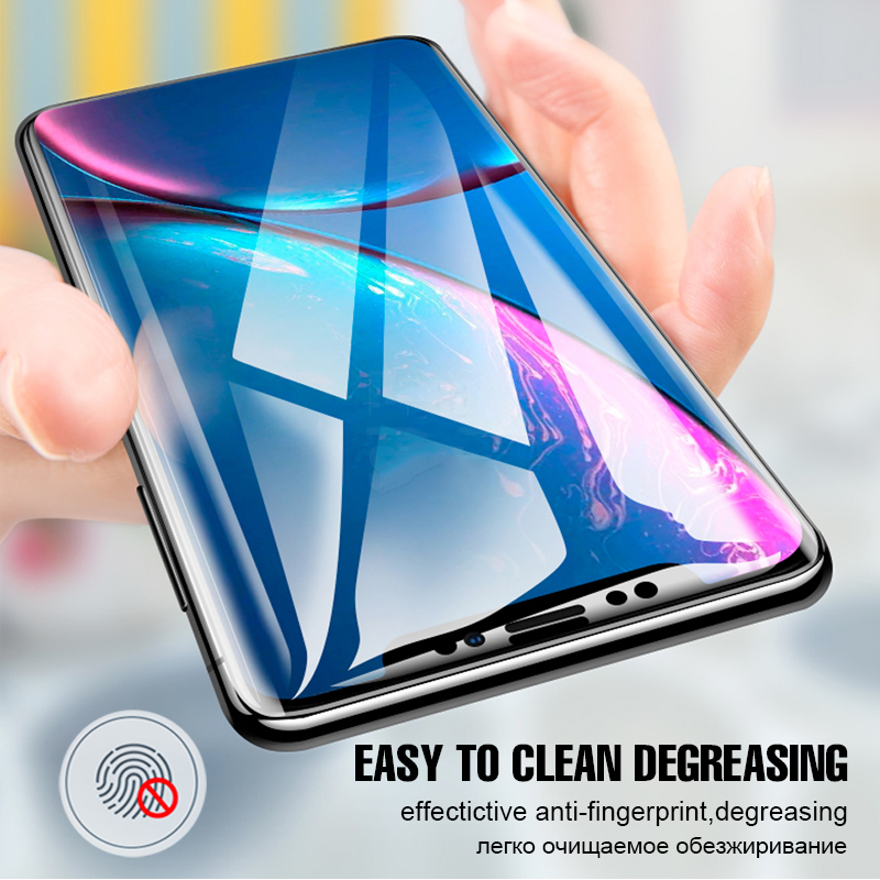 Full Cover Screen Protector Hydrogel film For iPhone XS Max XR X 8 Protective Film For iPhone X 8 7 6 6s Plus Not Tempered Glass in Phone Screen Protectors from Cellphones Telecommunications