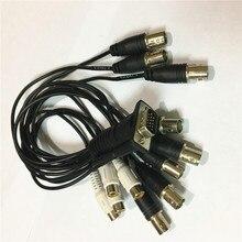 8 canales tarjeta dvr cable 15pin 3 línea de vídeo 8ch $ number canales de audio