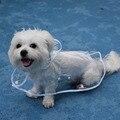 Ultra Thin Pet Dog Raincoat Waterproof Rain Coat For Medium Large Dog All Seasons Clothes Transparent Color Raincoat for dogs