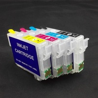 4PK 29XL T2991 T2994 Refillable Ink Cartridges With Auto Reset Chips For Epson XP342 XP345 XP442