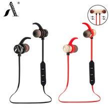 AmericaMande BT31 Magnetic sports wireless bluetooth 4.1 headphones stereo earphones headset AptX with Mic calls music earbuds