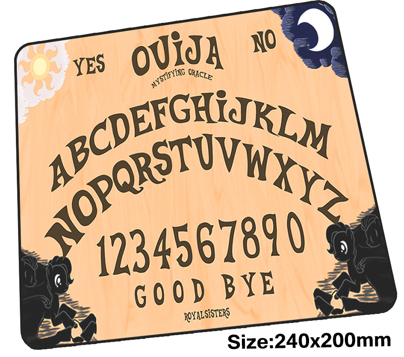 Ouija Board Mouse Pad Gamer 240x200mm  Notbook Mouse Mat Gorgeous Gaming Mousepad Large Cartoon Pad Mouse PC Desk Padmouse