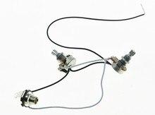 KAISH – harnais de câblage pré-câblé Alpha 500K, Mini Pots 1V1T 1 prise pour basse de précision P!
