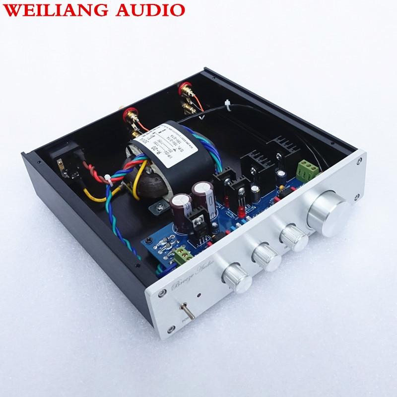 Weiliang audio Breeze audio Pre amplifier F1 op amp 49720NA or 49720HA 115V 230V