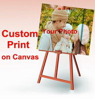 Your Picture Family Friends Or Baby Photo Favorite Image Custom Print On Canvas Painting Home Decorate