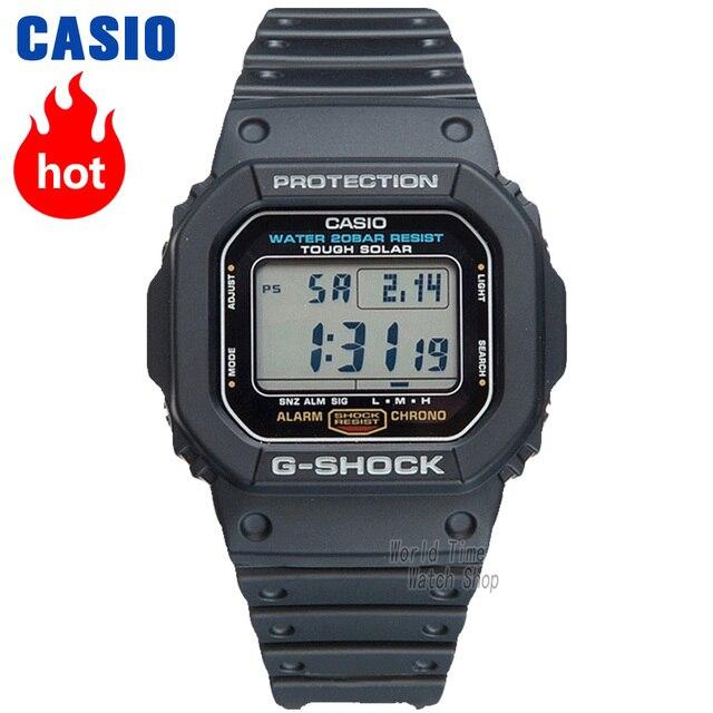 Casio watch G-SHOCK Men s quartz sports watch classic retro shockproof  waterproof g shock Watch G-5600 62b45bb3cd09