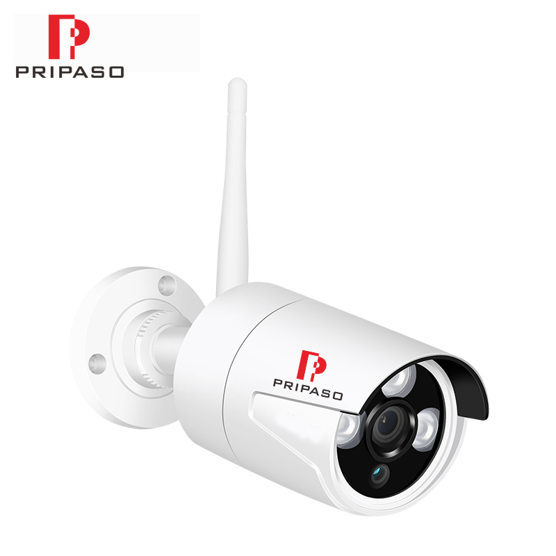 Surveillance Camera P2P Onvif 1080P Wifi IP Audio Camera Wireless Wired P2P CCTV Outdoor Bullet Camera Support 2-way Audio